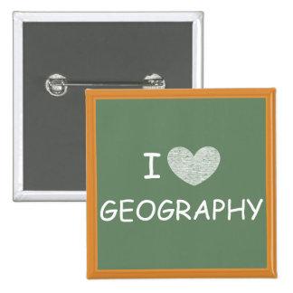 J'aime la géographie badges