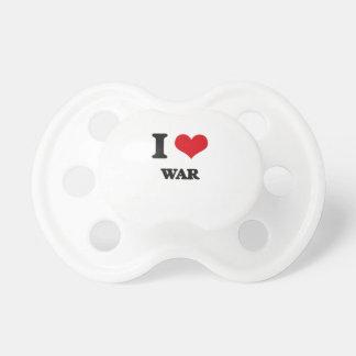J'aime la guerre tétine