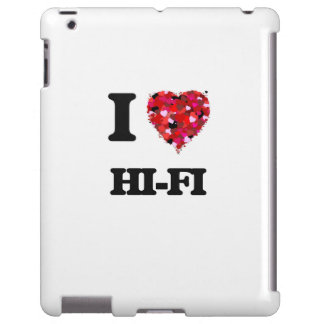 J'aime la haute fidélité coque iPad