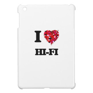 J'aime la haute fidélité coque pour iPad mini