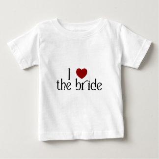 J'aime la jeune mariée t-shirts