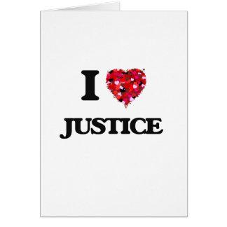 J'aime la justice cartes