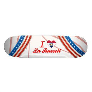 J'aime la La Russell, Missouri Skateboards Cutomisables
