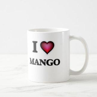 J'aime la mangue mug