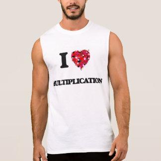 J'aime la multiplication t-shirts sans manches