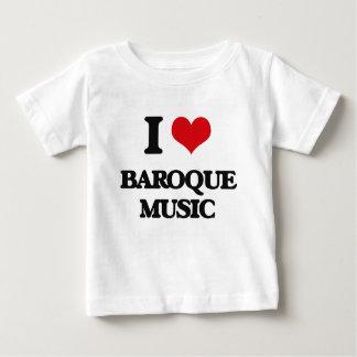 J'aime la MUSIQUE BAROQUE T-shirt Pour Bébé
