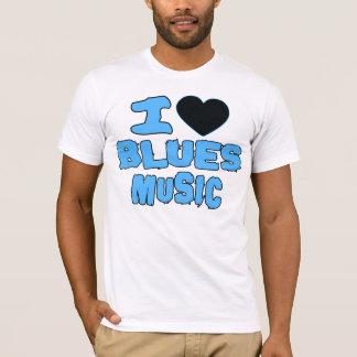 J'aime la musique de bleus -- T-shirts