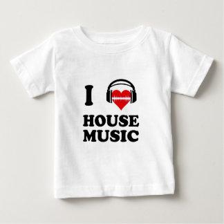 J'aime la musique de Chambre T-shirt Pour Bébé