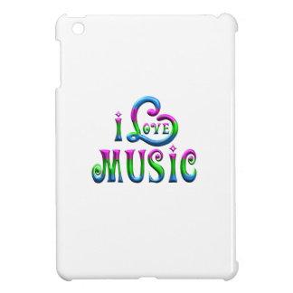 J'aime la musique étuis iPad mini
