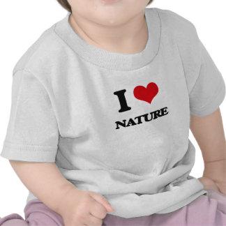 J'aime la nature t-shirt