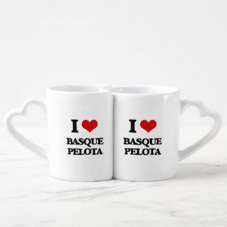 J'aime la pelote basque Basque Tasse Duo