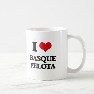 J'aime la pelote basque Basque Mug
