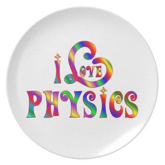J'aime la physique assiette