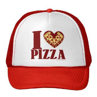 J'aime la pizza casquette de camionneur