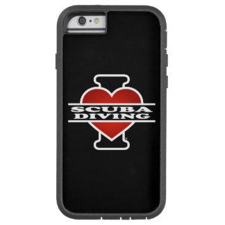 J'aime la plongée à l'air coque tough xtreme iPhone 6
