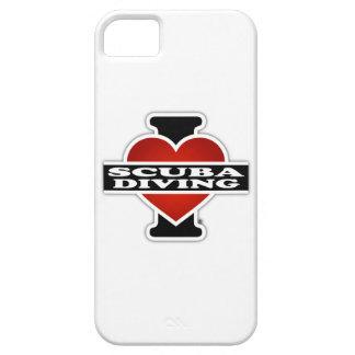 J'aime la plongée à l'air coques iPhone 5