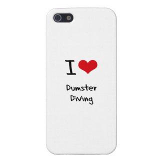 J'aime la plongée de Dumster Coque iPhone 5