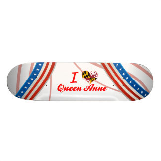 J'aime la Reine Anne, le Maryland Skateboards Personnalisés