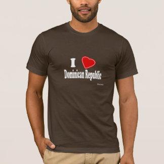 J'aime la République Dominicaine T-shirt