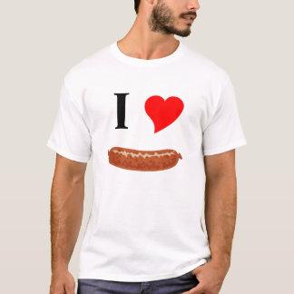 J'aime la saucisse t-shirt