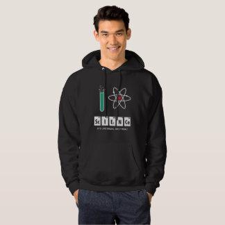 J'aime la Science - sweat - shirt à capuche