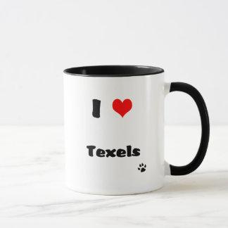 J'aime la tasse de cobaye de Texels