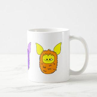 J'aime la tasse de Fuzzlings - trio de Fuzzlings