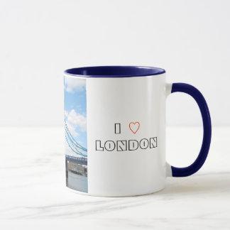 J'aime la tasse de Londres