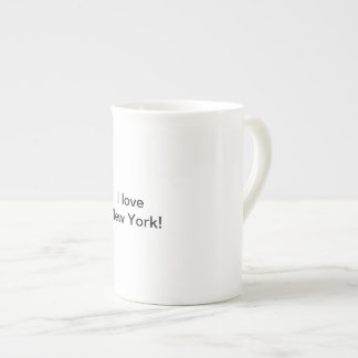 J'aime la tasse de New York