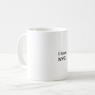 J'aime la tasse de NYC