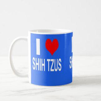 J'aime la tasse de tzus de Shih, Shihtzu