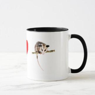 J'aime la tasse d'opossums