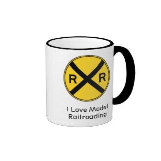 J'aime la tasse Railroading modèle