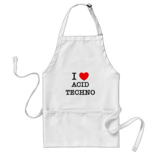 J'aime la techno acide tablier