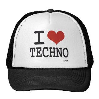 J'aime la techno casquette