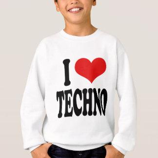 J'aime la techno sweatshirt