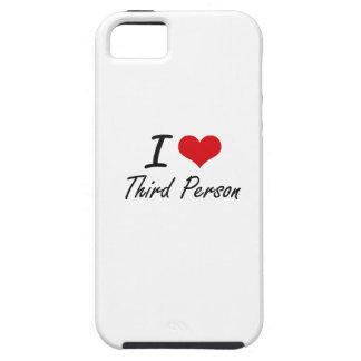 J'aime la troisième personne iPhone 5 case