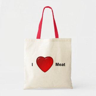 J'aime la viande sac