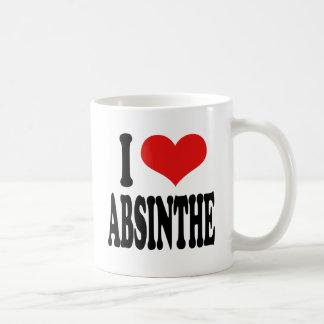J'aime l'absinthe mug