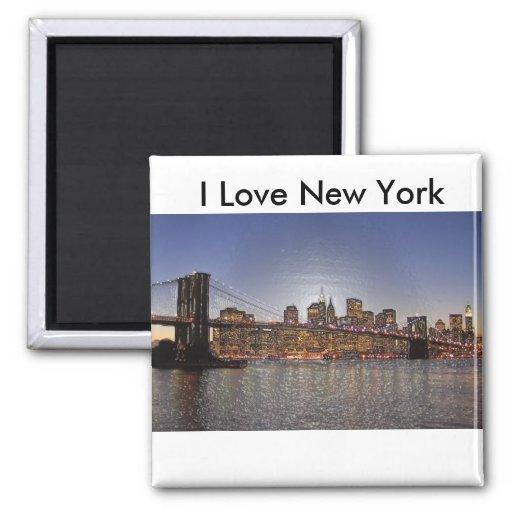 J'aime l'aimant de New York