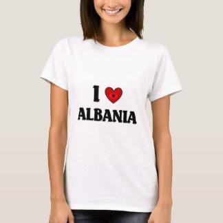 J'aime l'Albanie T-shirt