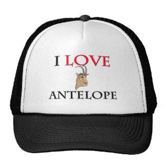 J'aime l'antilope casquettes