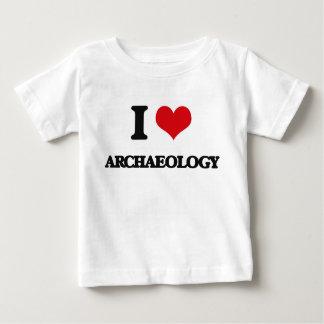 J'aime l'archéologie t-shirt pour bébé