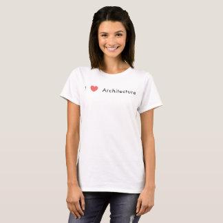 J'aime l'architecture t-shirt