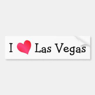 J'aime Las Vegas Autocollant De Voiture