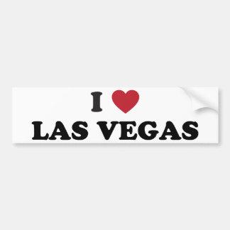 J'aime Las Vegas Nevada Autocollant Pour Voiture