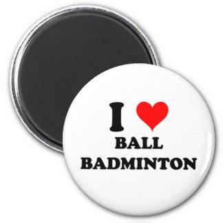 J'aime le badminton de boule aimant
