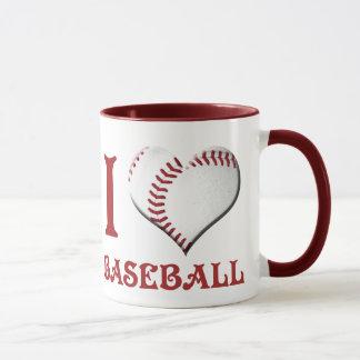 J'aime le base-ball mug