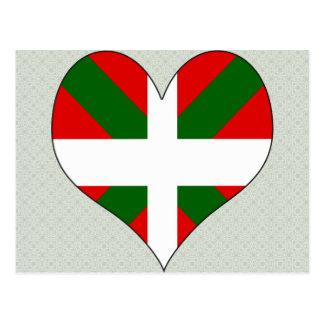 J'aime le basque cartes postales