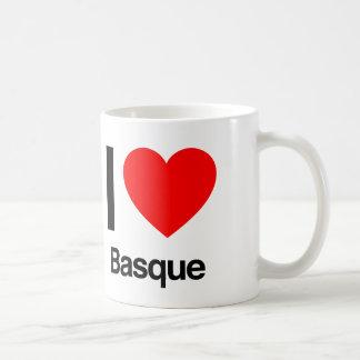 j'aime le basque mug blanc